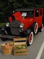 1929 Ford Model A Base, First classic auto show.  Took first in class - trucks., exterior