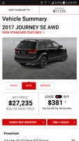 Picture of 2017 Dodge Journey SE AWD