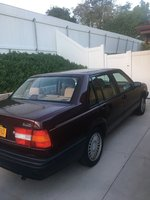 Picture of 1993 Volvo 940 Sedan, exterior