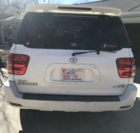 2001 Toyota Sequoia Limited, Rear Shot