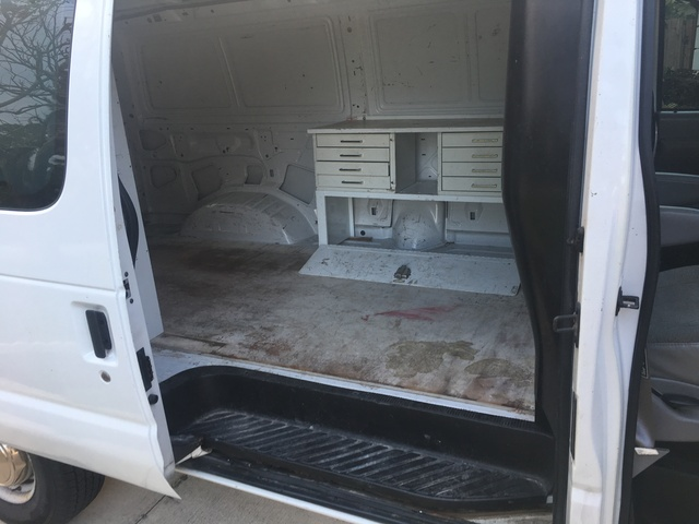 Cargo Van Interior Van Photos Defying Normal Interior Of