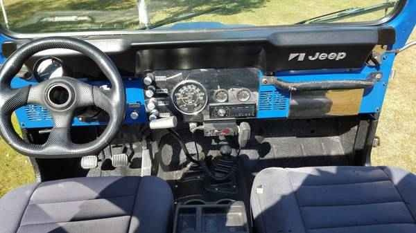 1986 Jeep Cj7 Interior Pictures Cargurus