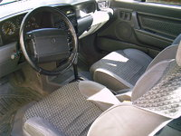 Picture of 1992 Mercury Capri 2 Dr STD Convertible, interior
