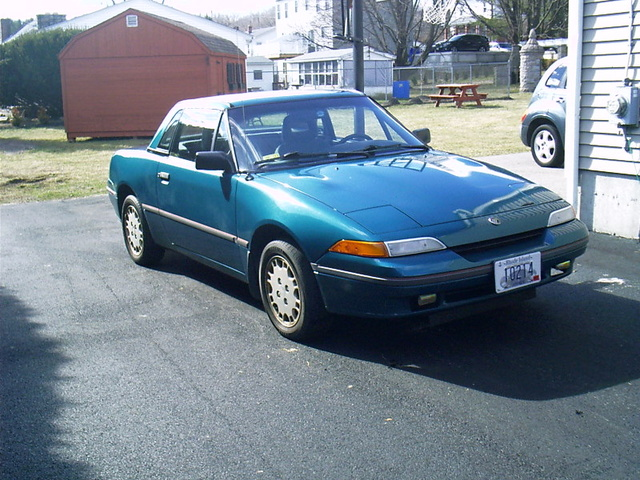 Picture of 1992 Mercury Capri 2 Dr STD Convertible