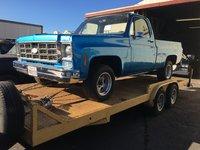 1973 Chevrolet C/K 10 Custom, 1st day, no motor or tranny yet, exterior