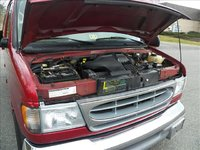 Picture of 2002 Ford E-Series Wagon E-150 XLT, engine