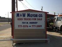 M & W Motor Company logo