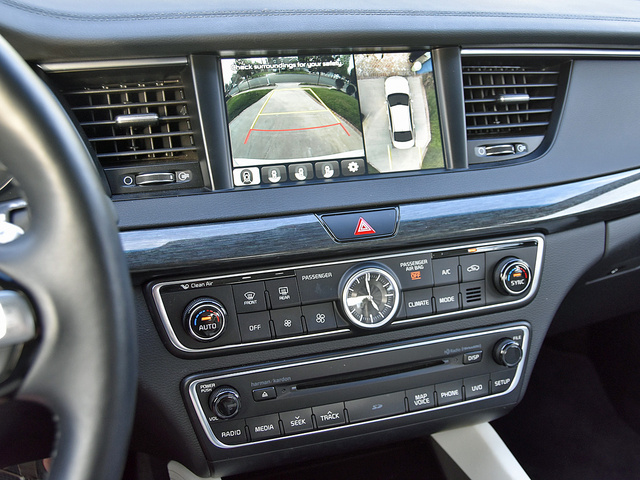2017 Kia Cadenza Limited UVO 360-degree Surround View Camera, interior, gallery_worthy