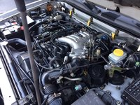 Picture of 2000 Nissan Pathfinder LE, engine