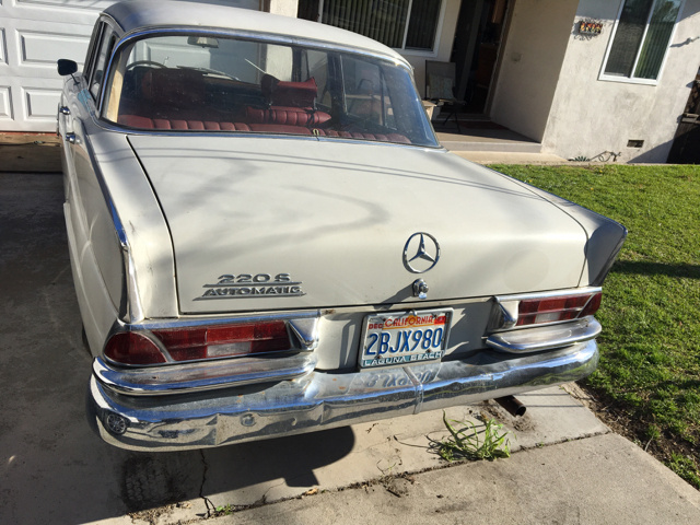 Mercedes Benz 220 Questions My 1967 Mercedes Hesitates