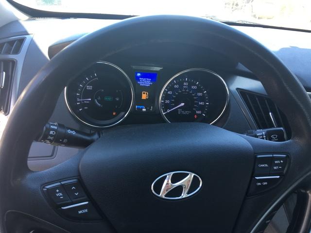2013 Hyundai Sonata Hybrid Interior Pictures Cargurus