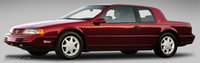 Picture of 1991 Mercury Cougar LS Coupe RWD, exterior, gallery_worthy