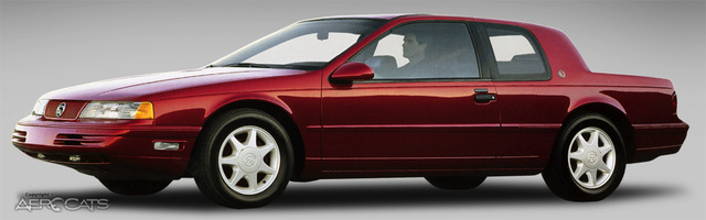 Picture of 1991 Mercury Cougar 2 Dr LS Coupe
