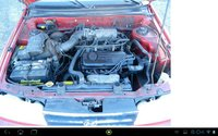 Picture of 1993 Hyundai Excel 2 Dr GS Hatchback, engine