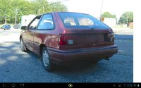 Picture of 1993 Hyundai Excel 2 Dr GS Hatchback, exterior