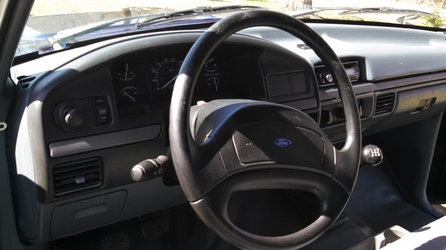 2017 Ford F 150 Interior >> 1993 Ford F 150 Interior Pictures Cargurus