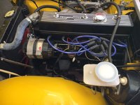 Picture of 1974 Triumph TR6, engine
