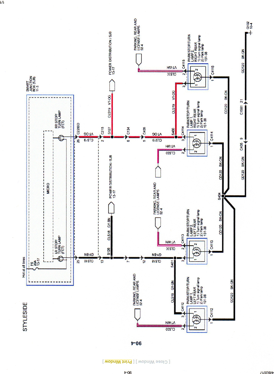 Odl Blinking F Wiring Diagram on
