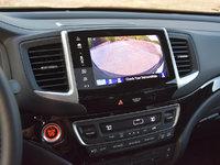 2017 Honda Pilot Elite AWD, 2017 Honda Pilot Elite reversing camera display, interior, gallery_worthy