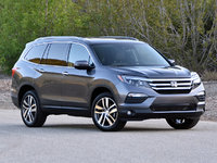 2017 Honda Pilot Elite AWD, 2017 Honda Pilot Elite in Modern Steel Metallic, exterior, gallery_worthy