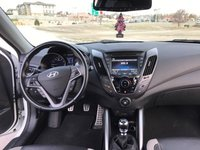 Picture of 2014 Hyundai Veloster Turbo Black Seats, interior