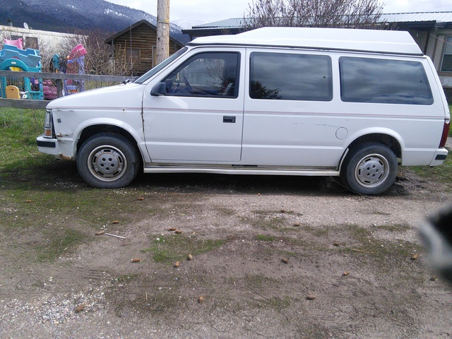 Dodge Caravan Dr Se Passenger Van Pic X on 1987 Dodge Ram 350 Custom Royal Se