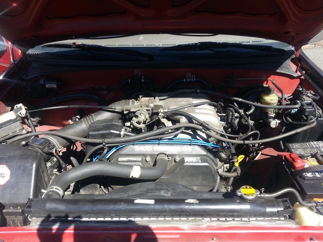 Picture of 1997 Toyota T100 2 Dr SR5 Extended Cab SB, engine
