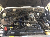 Picture of 1989 Toyota Land Cruiser 4WD, engine