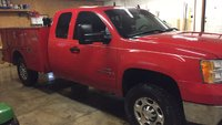 Picture of 2009 GMC Sierra 3500HD Work Truck Ext. Cab 4WD, exterior, gallery_worthy