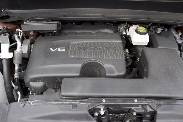 Engine of the 2017 Nissan Pathfinder, engine, gallery_worthy