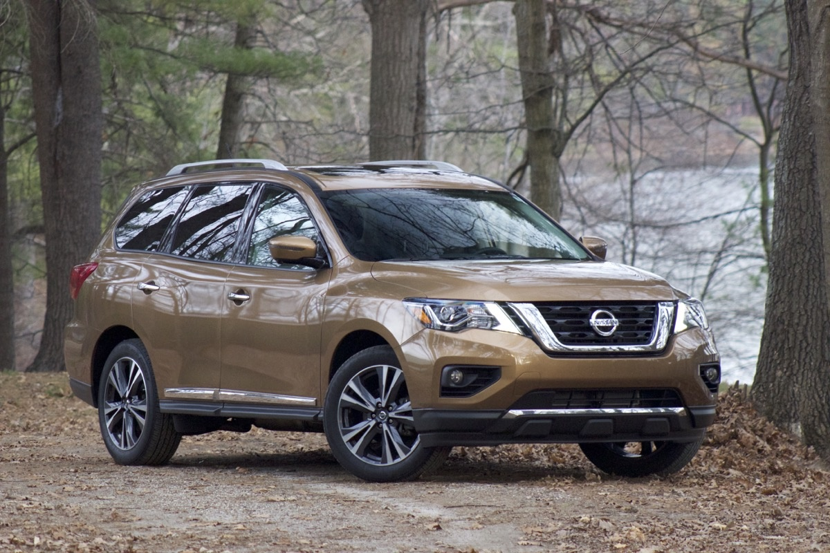 Exterior of the 2017 Nissan Pathfinder