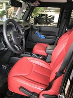 Picture of 2017 Jeep Wrangler Unlimited Sport, interior