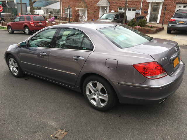 2008 acura rl - pictures