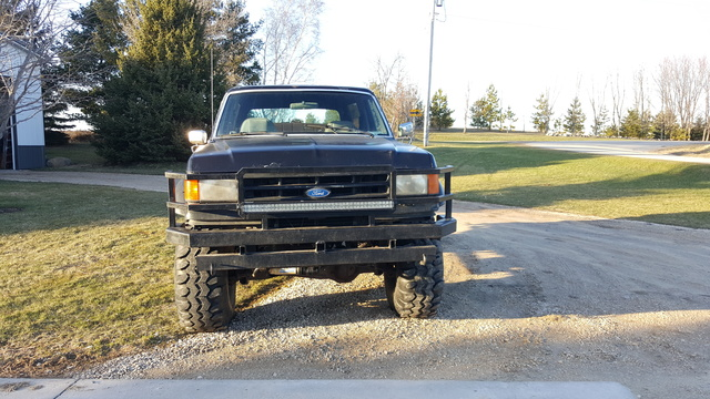 Picture of 1990 Ford Bronco XLT 4WD, exterior