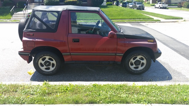 Picture of 1994 Geo Tracker 2 Dr LSi 4WD Convertible