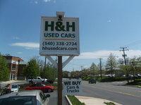 H&H Used Cars logo