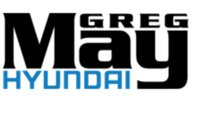 Greg May Hyundai logo