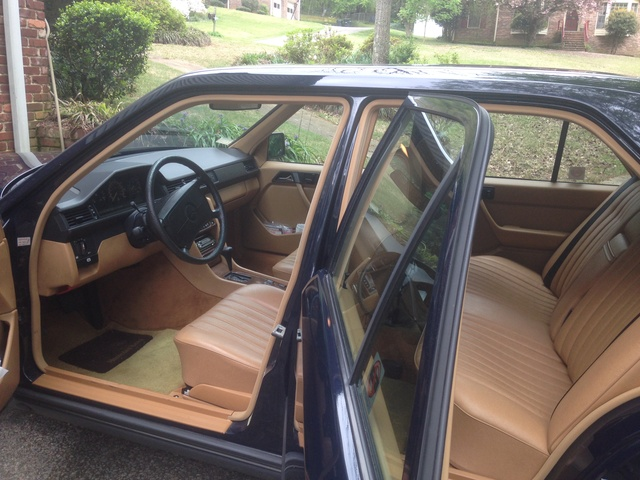 Picture of 1987 Mercedes-Benz 300-Class 300D Turbodiesel Sedan, interior
