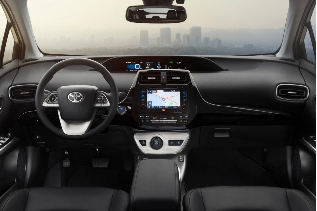 Picture of 2016 Toyota Prius Three, interior, gallery_worthy
