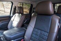 Picture of 2017 Nissan Titan Platinum Reserve Crew Cab 4WD, interior, gallery_worthy