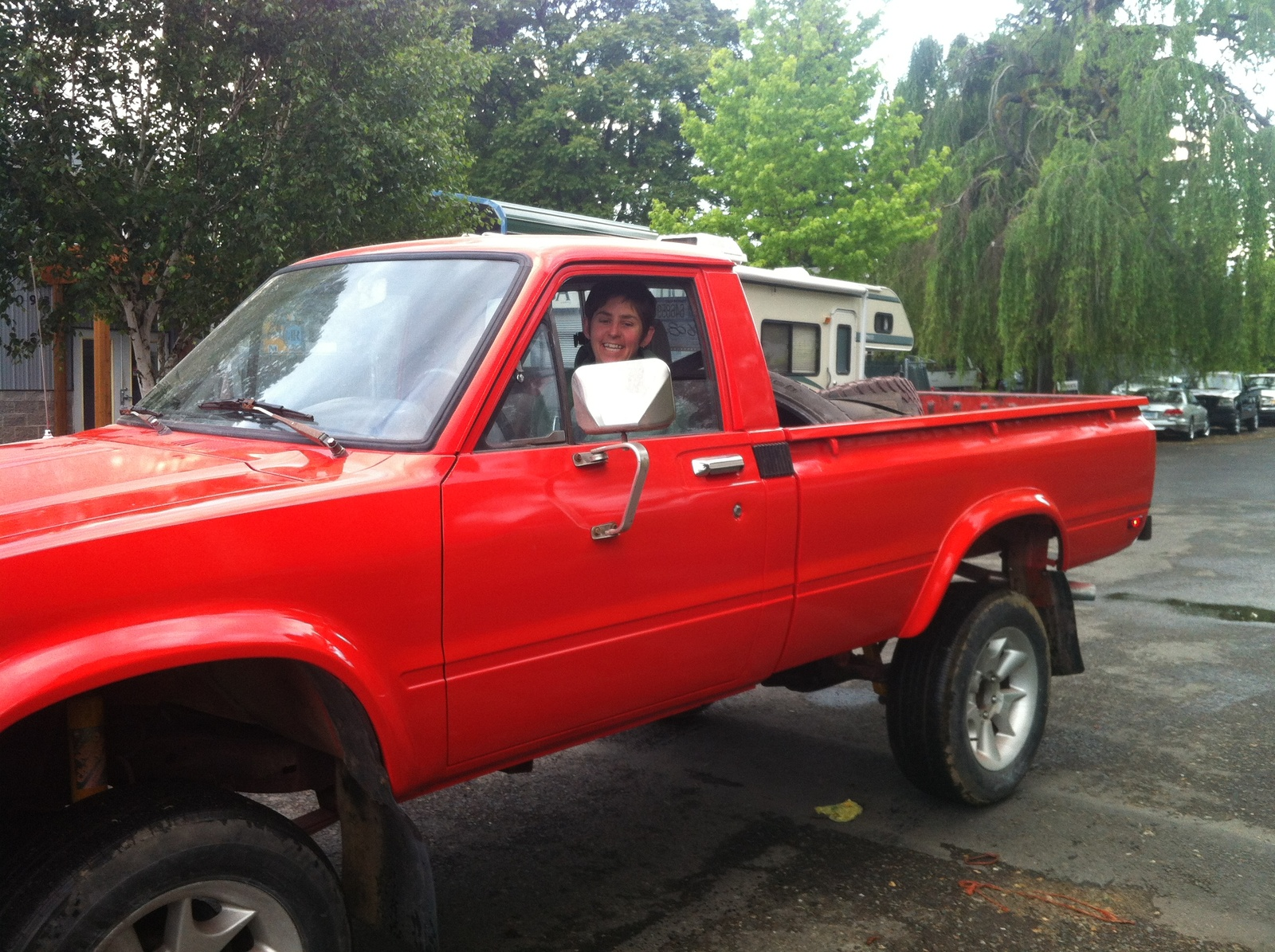 1985 Toyota Pickup 4x4 >> Toyota Pickup Questions My 1985 4runner 4wd Jammed Up Last