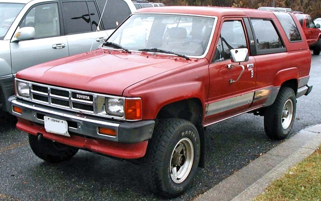 Picture of 1989 Toyota 4Runner 2 Dr Deluxe V6, exterior, gallery_worthy