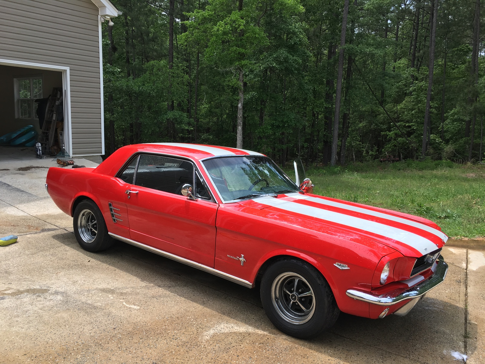 I have a 66 with 51000 original miles excellent condition exterior and interior 289 runs great whats the value