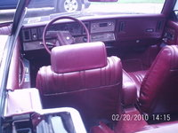 Picture of 1986 Chrysler Le Baron Base Convertible, interior