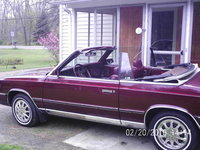 Picture of 1986 Chrysler Le Baron Base Convertible, exterior