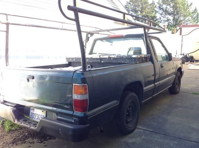 Picture of 1995 Mitsubishi Mighty Max Pickup 2 Dr STD Standard Cab SB
