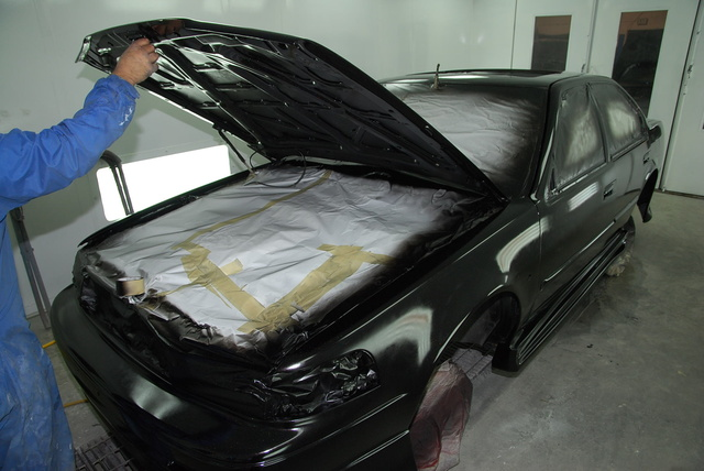 1990 Nissan Maxima SE, Paint Day 2012, exterior, gallery_worthy