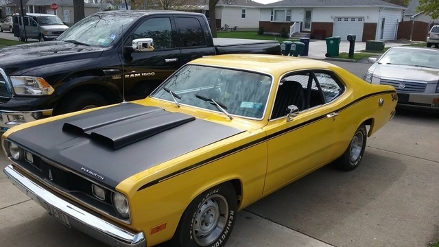 340/4-speed/3:55 numbers matching 70 duster