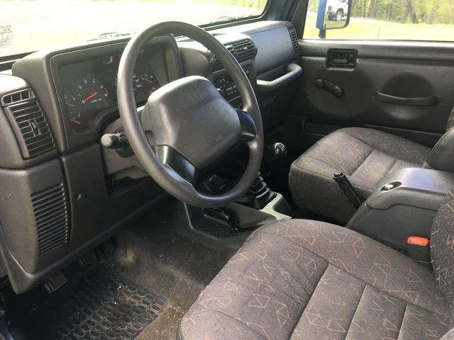 2001 jeep wrangler interior pictures cargurus