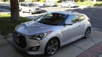 Picture of 2014 Hyundai Veloster Turbo Blue Seats, exterior